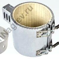 Кольцевые миканитовые и керамические нагреватели для головки и цилиндра экструдера