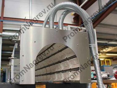 Инфракрасная система предварительного нагрева труб из ПВХ для формовки