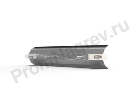 Рефлектор QTMR для галогеновых излучателей 300x62 мм ПромНагрев