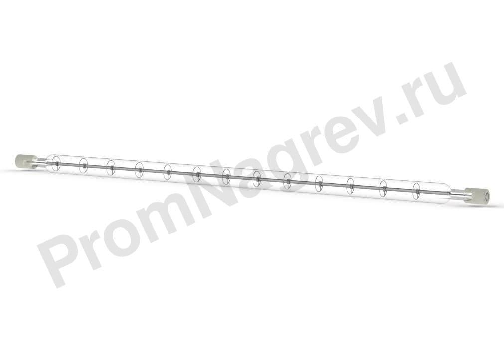 Галогенный нагреватель ИК коротковолновый QHM 1000 Вт, 10x277 мм