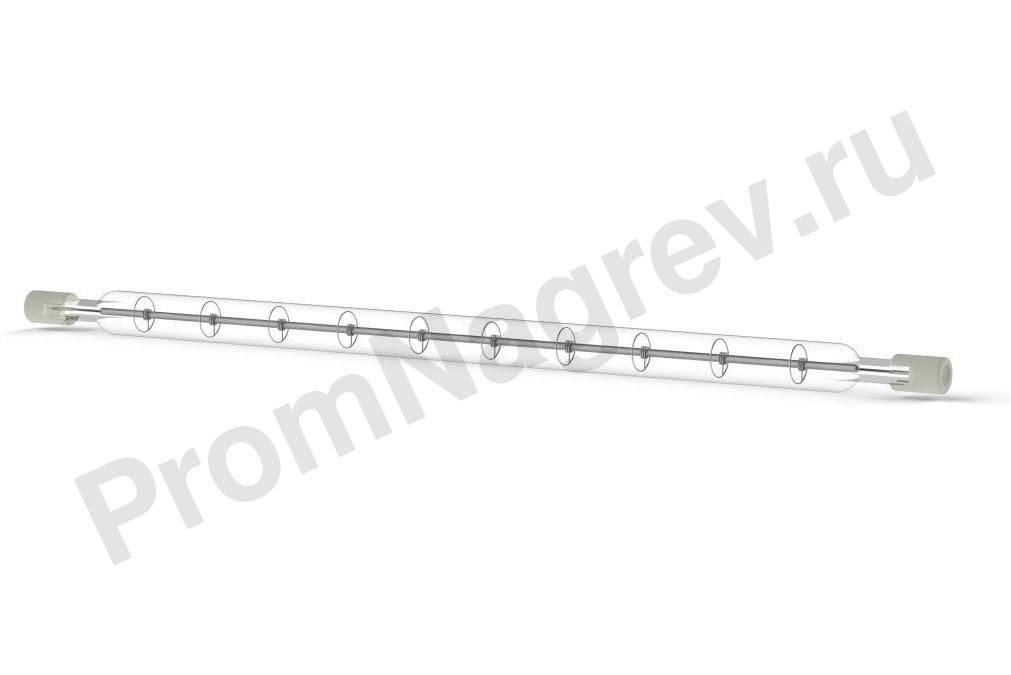 Галогеновый нагреватель инфракрасный коротковолновый QHS 750 Вт, 10x224 мм