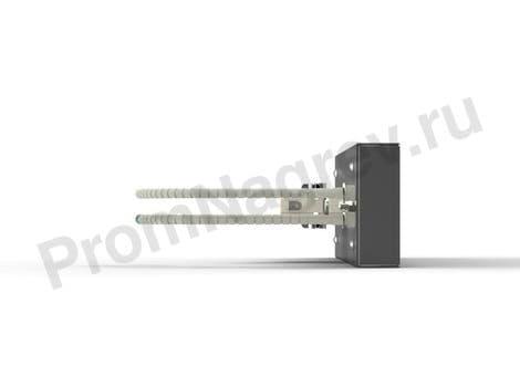 Инфракрасная кварцевая кассета PFQE штепсельное крепление 150 - 1000 Вт, 247x62.5 мм с ТП