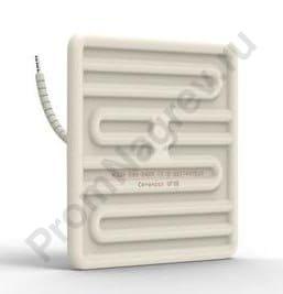 ИК нагревательный элемент керамический плоский SFSE 250 - 1000 Вт, 122x122x26 мм