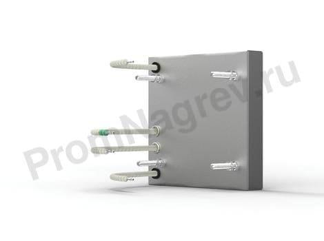Кварцевый ИК излучатель кассета SQE 150 - 1000 Вт 123.5x123.5 мм с ТП