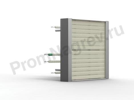 Кварцевый ИК излучатель кассета SQE 150 - 1000 Вт 123.5x123.5 мм со встроенной термопарой