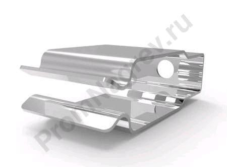 Держатель для галогеновых излучателей с плоскими керамическими коннекторами
