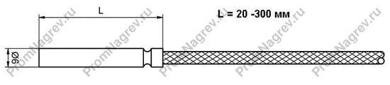 Купить термопару штырьковую TES-P16 диаметр 6 мм