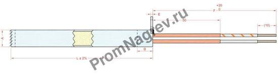 Отвод упорная шайба с отверстием для крепления диаметром от 6,5 до 20 мм, тип T7B