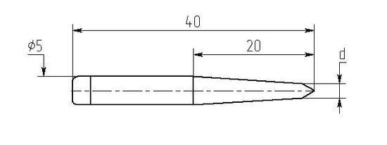 Износостойкие паяльные насадки MN20-DA для паяльника ПРЦ-90
