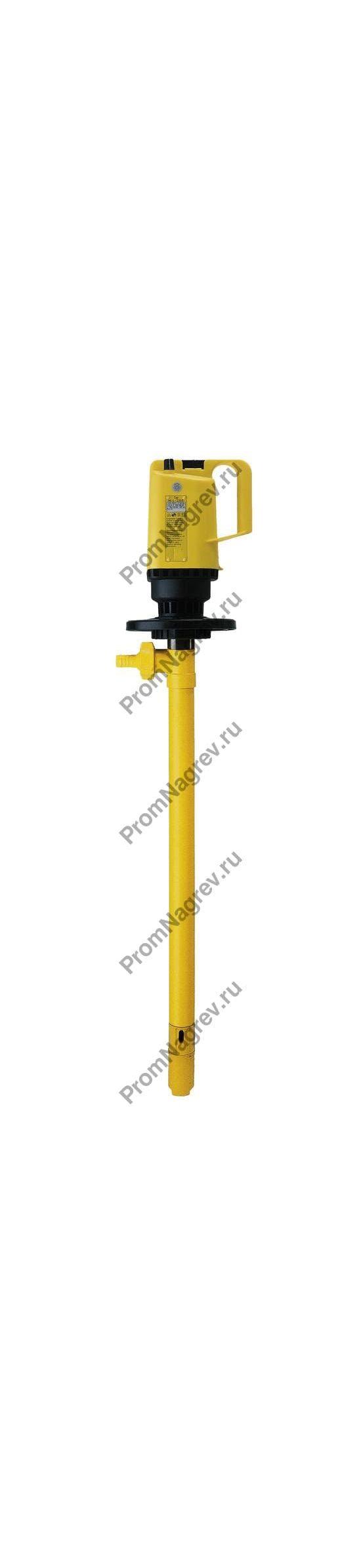 Электрический насос для опорожнения бочек с кислотой и щелочью, только насос без арматуры, глубина погружения 1000 мм