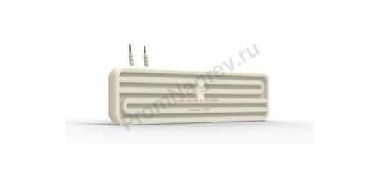 Промышленный ИК нагревательный элемент керамический полый FFEH 250 - 800 Вт, 245x60x37,5 мм