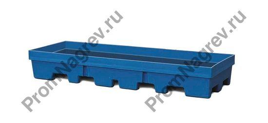 Поддон из экологически чистого полиэтилена PolySafe PSP 2.4-R на 4 бочки без решётки.