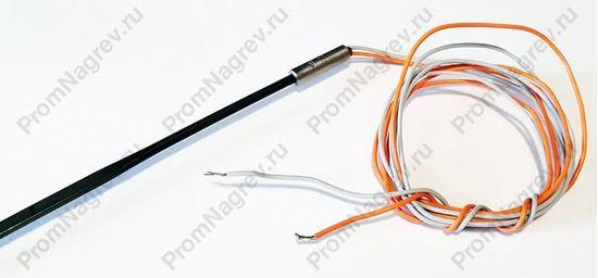 Спиральный нагреватель прямой 225 Вт/230 В, сечение 2.2 х 4.2 мм