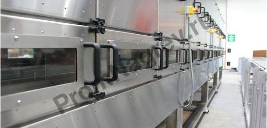 Модульная инфракрасная конвейерная печь на базе керамических нагревателей