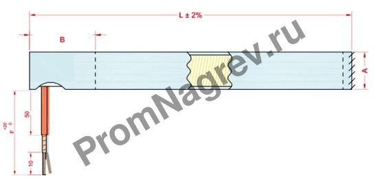 Угловой отвод диаметром от 6,5 до 25 мм, тип T9В