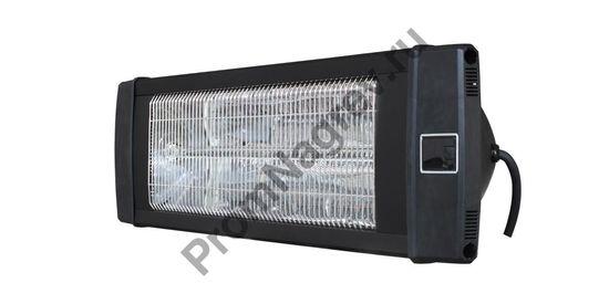 Настенный ик карбоновый обогреватель FR-2000, мощность 2000 Вт, черный корпус