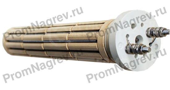 Цилиндрический керамический ТЭН для воздуха, воды и масла диаметр 46 мм