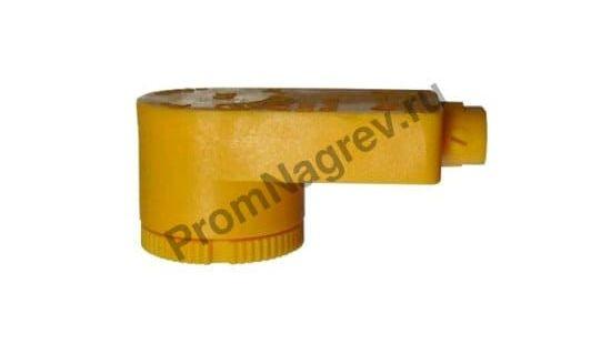 Подсоединительная головка из полипропилена (ПП), диаметр 45 мм для гальванического нагревателя