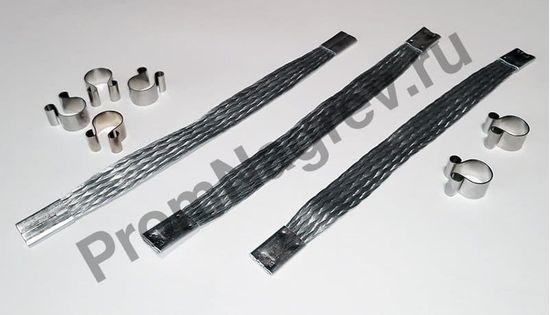 Электрический коннектор для карбидокремниевых нагревателей с двойной петлей