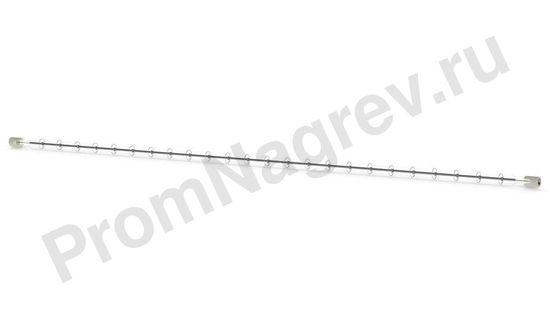 Галогенный нагревательный элемент ИК коротковолновый QHL 1500-2000 Вт, 10x473 мм