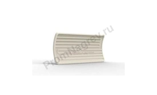 Инфракрасные нагревательные элементы керамические вогнутые LFTE 1000 Вт и 1500 Вт, 245x110x38,5 мм