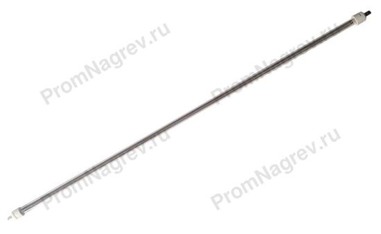 Инфракрасная кварцевая лампа 10x630 мм, 800 Вт/220 В, плоский вывод