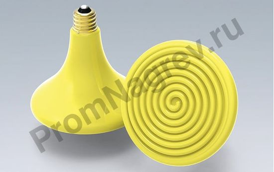 Лампа Эдисона желтый цвет