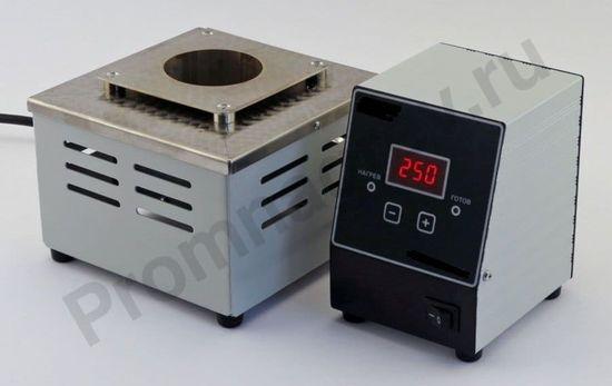 Цифровая паяльная ванна круглая d=45 мм h=50 мм 150 Вт