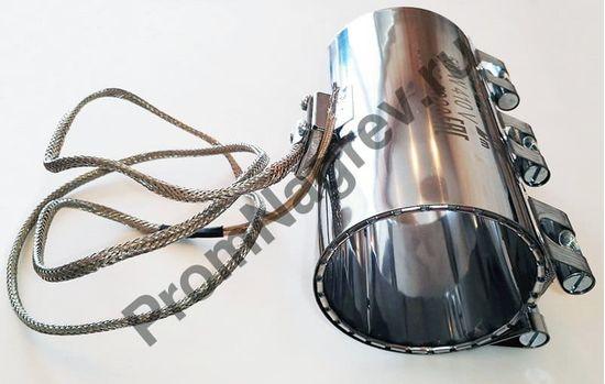 Нагреватель кольцевой миканитовый 72 x 140 мм, мощность 500 Вт, напряжение 410 В, термостойкий провод в метоплетке на малом коробе