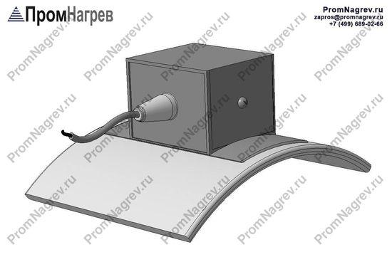 Термостойкий провод - электроподключение хомутового тэна тангенциально