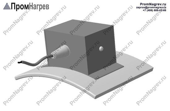 Термостойкий провод по оси - подключение к питанию хомутового нагревателя