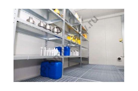 Контейнер для работы с ЛВЖ  6 квадратных метра, высота помещения 2500 мм