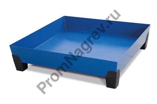 Поддон без решётки, квадратной формы, с пластиковыми ножками, на бочку (200 л), VarioTwin.