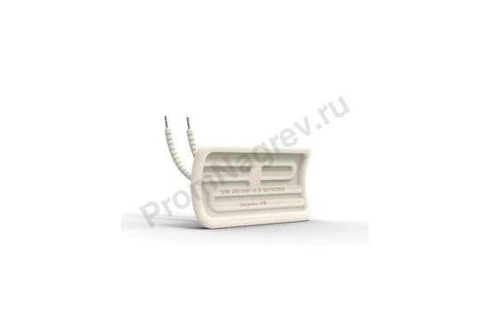 Керамический излучатель вогнутый HTE 125 - 500 Вт, 122x60x34 мм