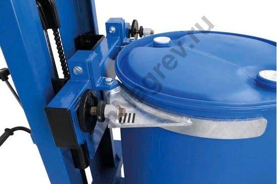 Универсальный подъёмник для бочек Servo FL 8-SK, грузоподъемность 300 кг, регулируемый зажим для бочки