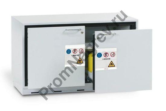 Шкаф двухсекционной огнеупорный для воспламеняющихся веществ, GU 111.T, тип 90.