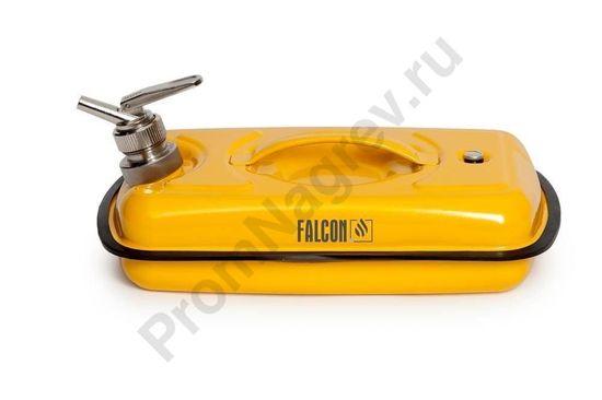 Канистра объёмом 5 литров для ЛВЖ с пламегасителем, предотвращающим распространение пламени и препятсвующим воспламенению содержимого емкости
