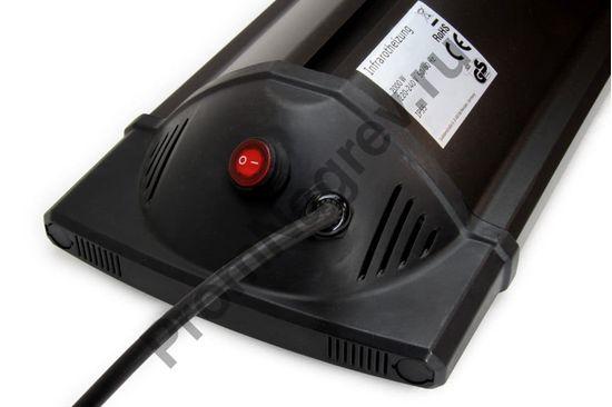 Настенный ик карбоновый обогреватель FR-2000, кнопка включения