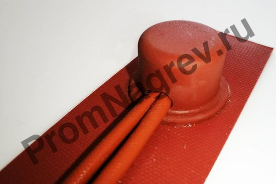 Cиликоновый нагреватель 40x150 мм, 50 Вт/220 В