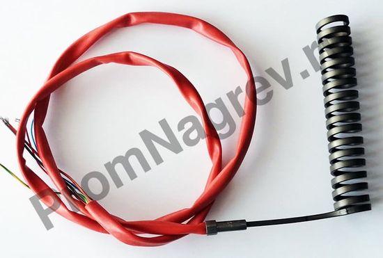 Нагревательный элемент спиральный Hotcoil 2,2*4,2 мм; 230 В/850 Вт; термопара J; навит на диаметр 18 мм, длину 135 мм