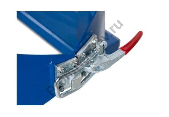 Поворотное устройство SVK из окрашенной стали для бочек 200 литров, надёжная фиксация емкости