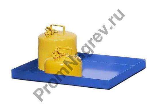 Лоток из окрашенной стали, на 30 литров, 987x600x75.