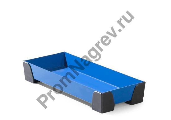 Лоток семилитровый, с пластиковыми уголками, решётки нет, 250x600x95.