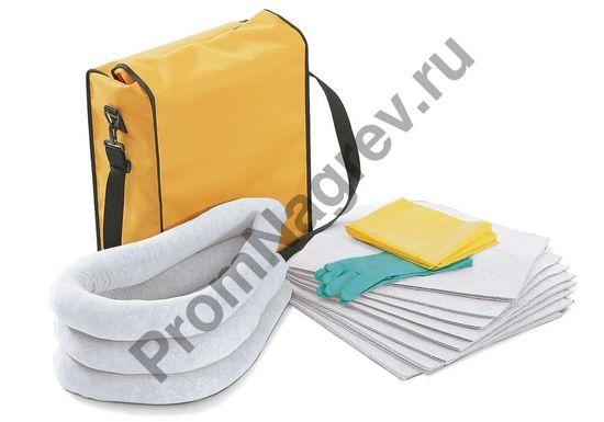 Переносная сумка с набором сорбентов, для любой погоды, для устранения нефтяных/масляных загрязнений.
