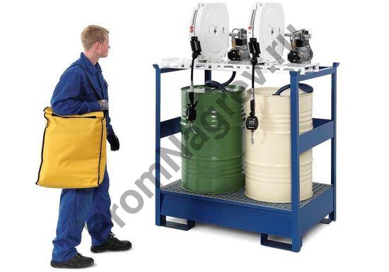Сумка для переноски с аварийном набором сорбентов, для чс с участием нефтяных и масляных загрязнений.