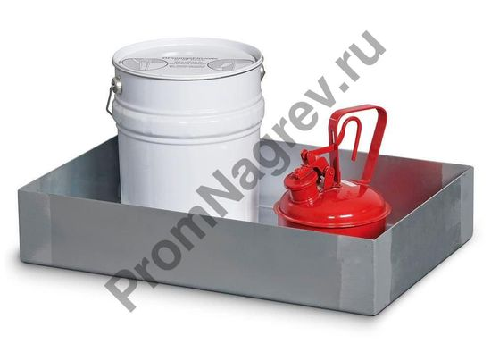 Поддон из стали оцинкованной на 20 литров, 400x600x120.