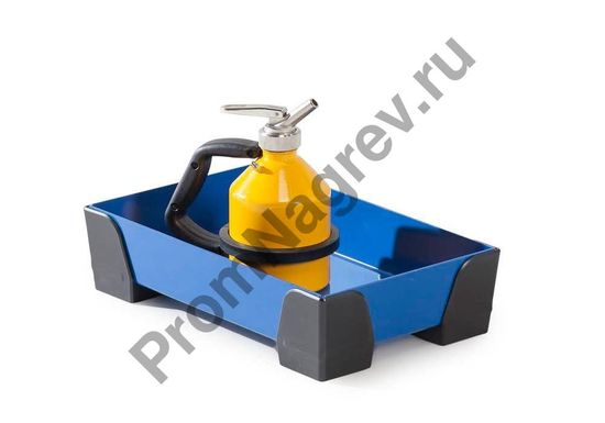 Пример того, как использовать в работе сточный стальной лоток с пластиковыми уголками, без решётки, 250x400x95, на 5 литров.