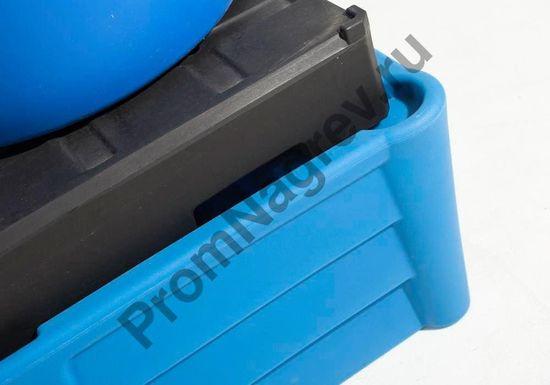 Поддон полиэтиленовый классический, штабелируемый. на две бочки, с пластиковым паллетом -настилом под размещение двух бочек.
