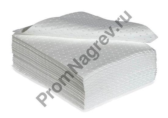 Сорбирующие салфетки прочные из нетканого материала, эконом-вариант, в три слоя, размерами 40*50 см, 100 шт.