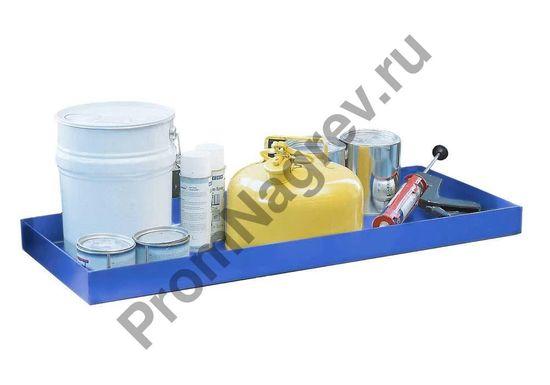 Стальной лоток, объём 20 литров, окрашенный, 987x400x75.